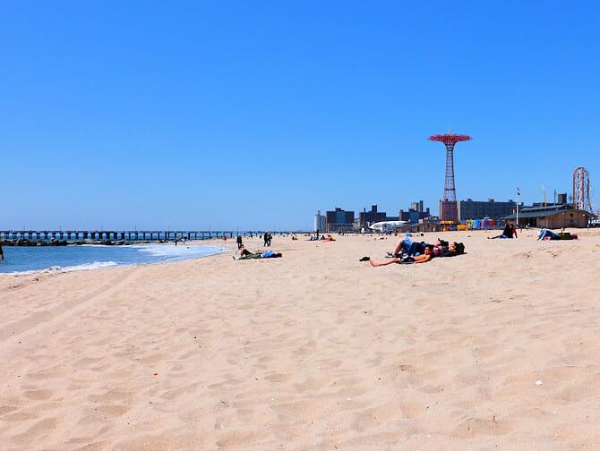 Coney Island i New York - Stranden