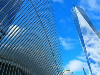 Lower Manhattan og Financial District i New York - 1WTC