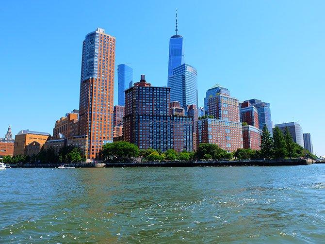 TriBeCa i New York - Udsigt