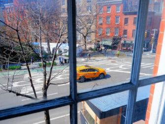 West Village i New York - Udsigt fra hotel