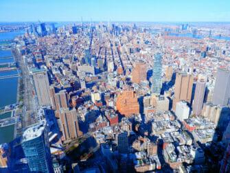 One World Observatory billetter - Udsigt over Manhattan