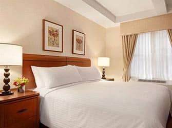 Edison Hotel i New York - Seng