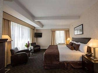 Edison Hotel i New York - Værelse