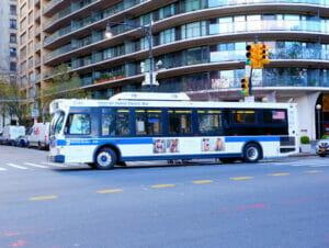 Bus i New York