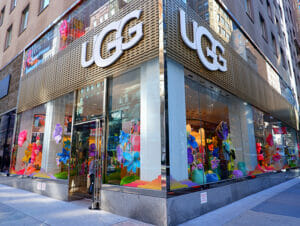 UGG butikker i New York