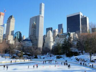 Løbe på skøjter i New York - Wollman Rink
