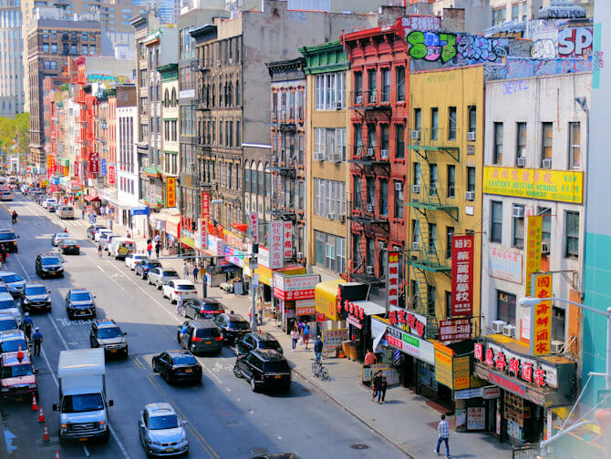 Chinatown i New York