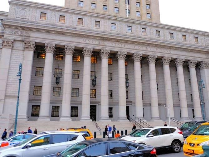 Civic Center i New York - Byret