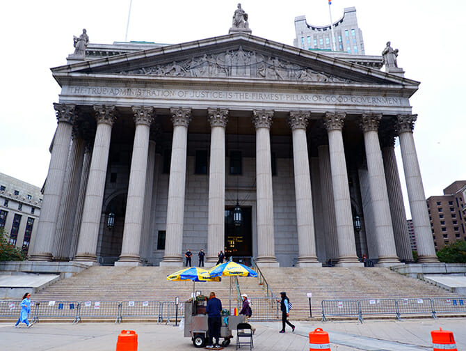 Civic Center i New York - Law and Order