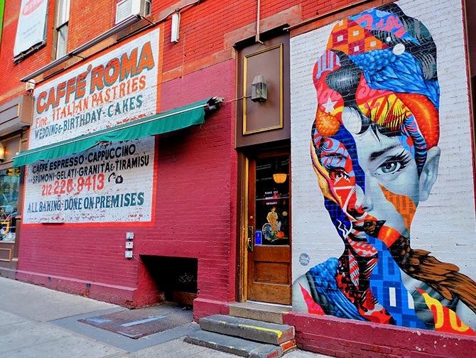 Little Italy i New York - Street art