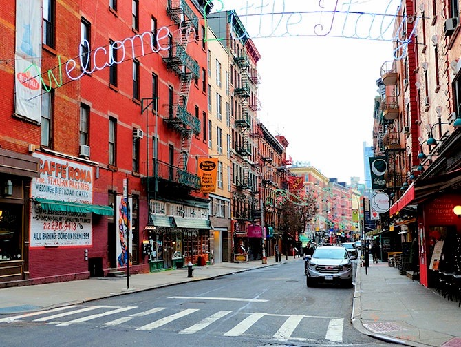 Little Italy i New York - Welcome