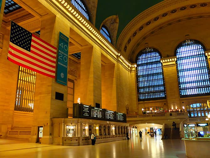 Midtown Manhattan i New York - Grand Central
