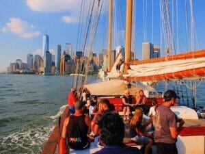 Frihedsgudinden sejltur i New York