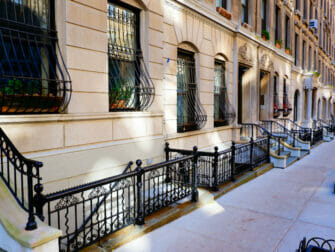 Upper West Side i New York - Brownstone-huse
