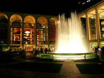 Upper West Side i New York - Lincoln Center