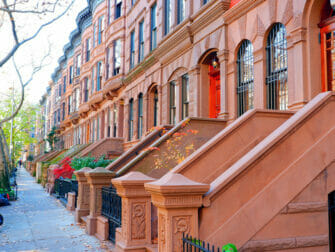 Upper West Side i New York - Solrig eftermiddag