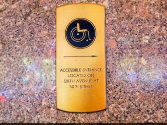 Faciliteter for handicappede i New York