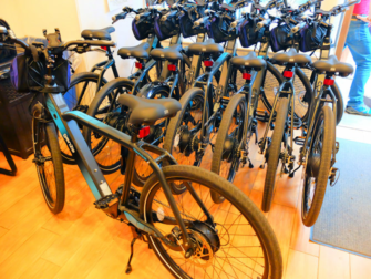Faciliteter for handicappede i New York - Elcykler