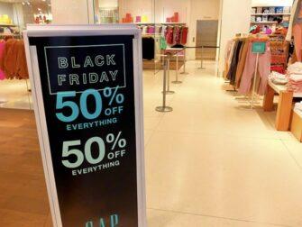 Udsalg i New York - Black Friday