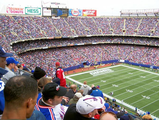 New York Giants billetter
