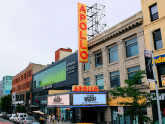 Harlem i New York - Apollo Theatre