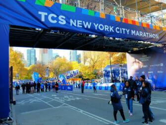 New York Marathon - Målstregen