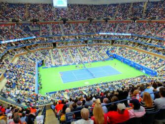 US Open Tennis billetter - Tenniskamp