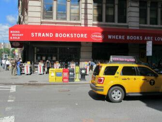 Strand Bookstore i New York - Bogreoler