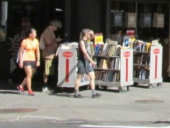 Strand Bookstore i New York - Bøger