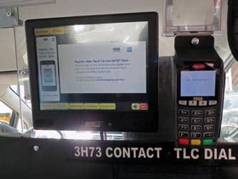 Taxa i New York - Giv drikkepenge i en taxa
