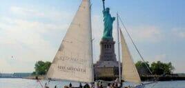 Weekendsejltur med champagnebrunch i New York