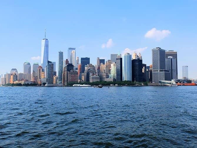 Weekendsejltur med champagnebrunch i New York - Udsigt