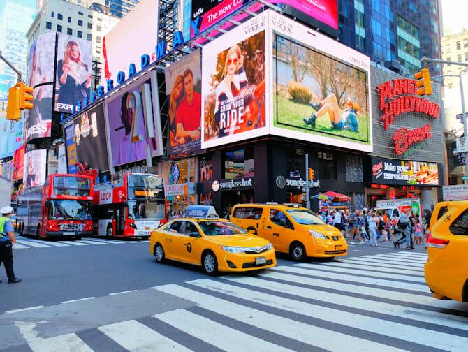 Taxa i New York - Taxaer i myldretiden