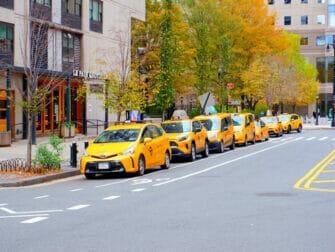 Taxa i New York - Gule taxaer i New York