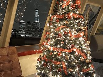 Juleaften cruise med middag i New York - Juletræ