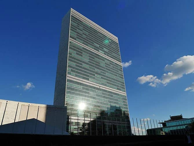 De Forenede Nationer i New York - Hovedkvarter
