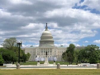 New York til Amish Country, Philadelphia og Washington D.C. 2-dages tur - Capitol