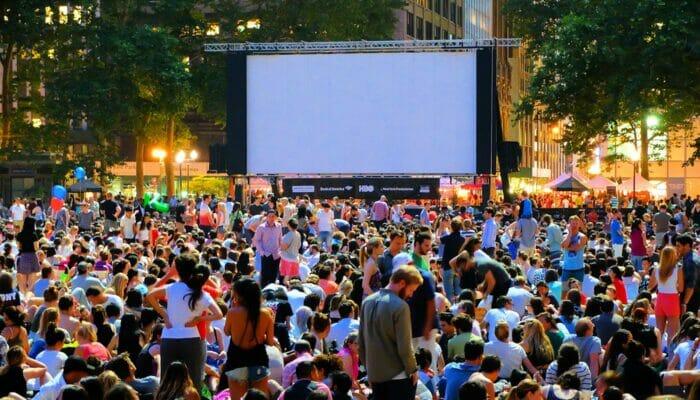 Gratis film i Bryant Park - Filmaften