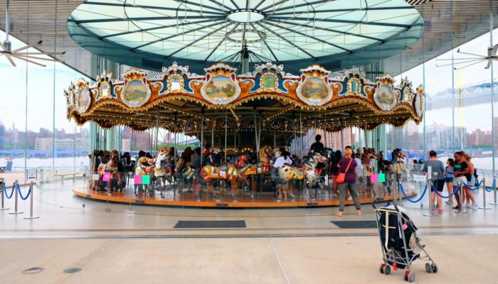 Jane's Carousel i Brooklyn - Karrusellen