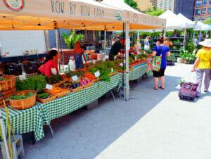 Markeder i New York