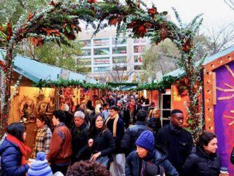 Markeder i New York - Union Square Christmas Market