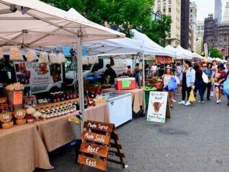 Markeder i New York - Union Square Greenmarket