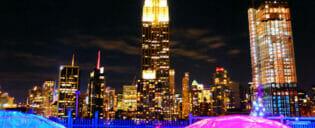 Nattelivet i Midtown New York