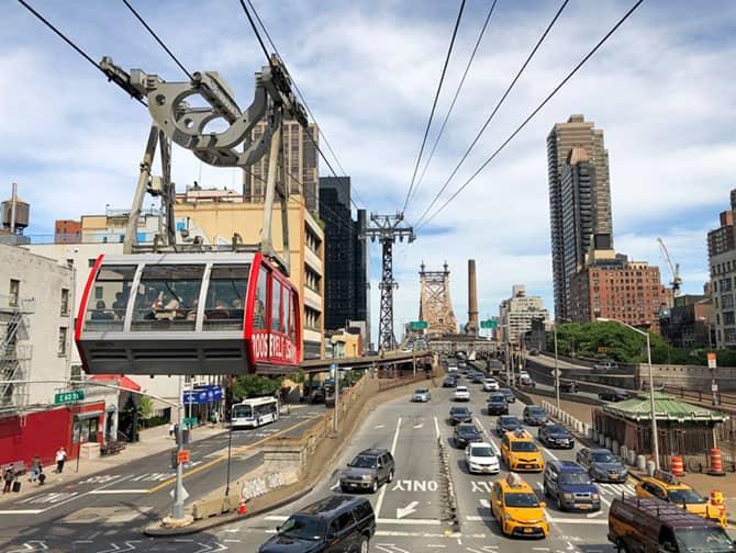 Roosevelt Island Tram New York - Kabelbane