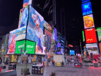 Times Square i New York - Aften