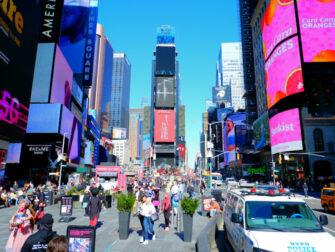 Times Square i New York - Dag