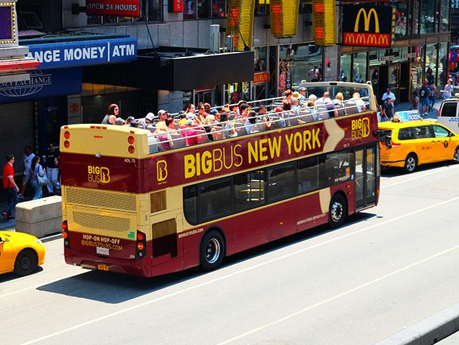 Big Bus i New York - Bus