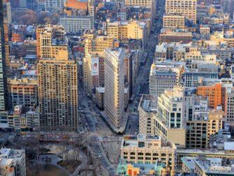 Empire State Building billetter - Udsigt til Flatiron