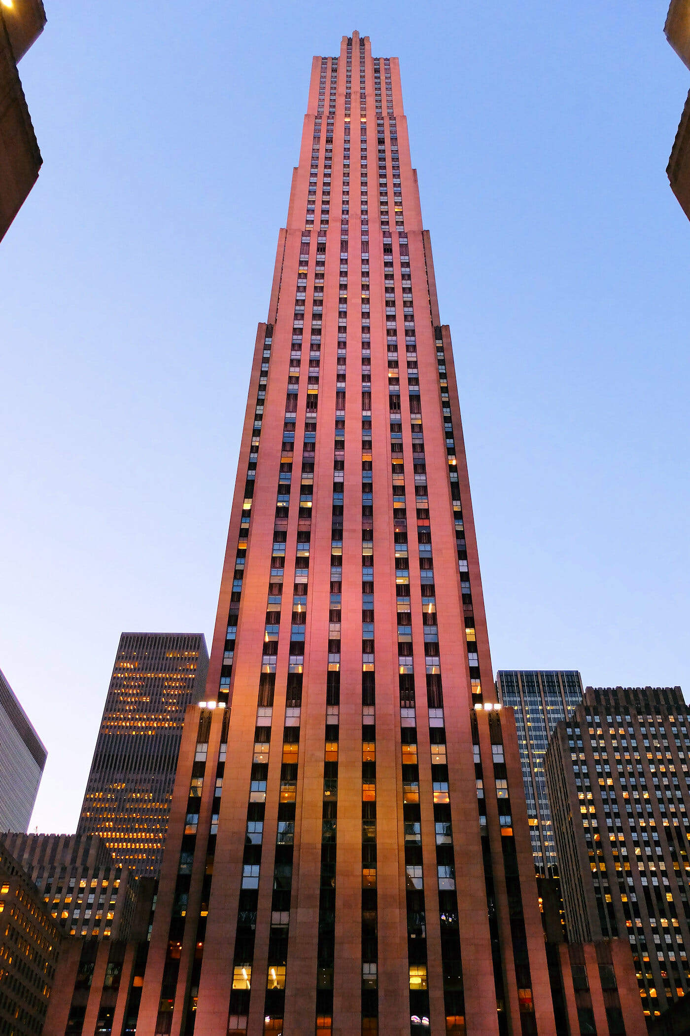 Rockefeller Center i New York - Comcast Building