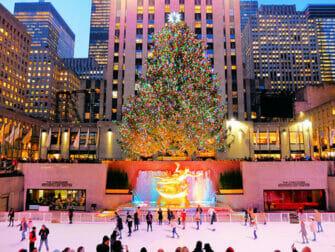 Rockefeller Center i New York - Skøjtebane